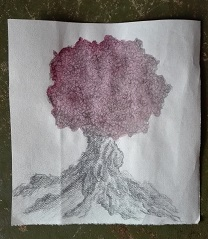 Stark verwurzelter Baum